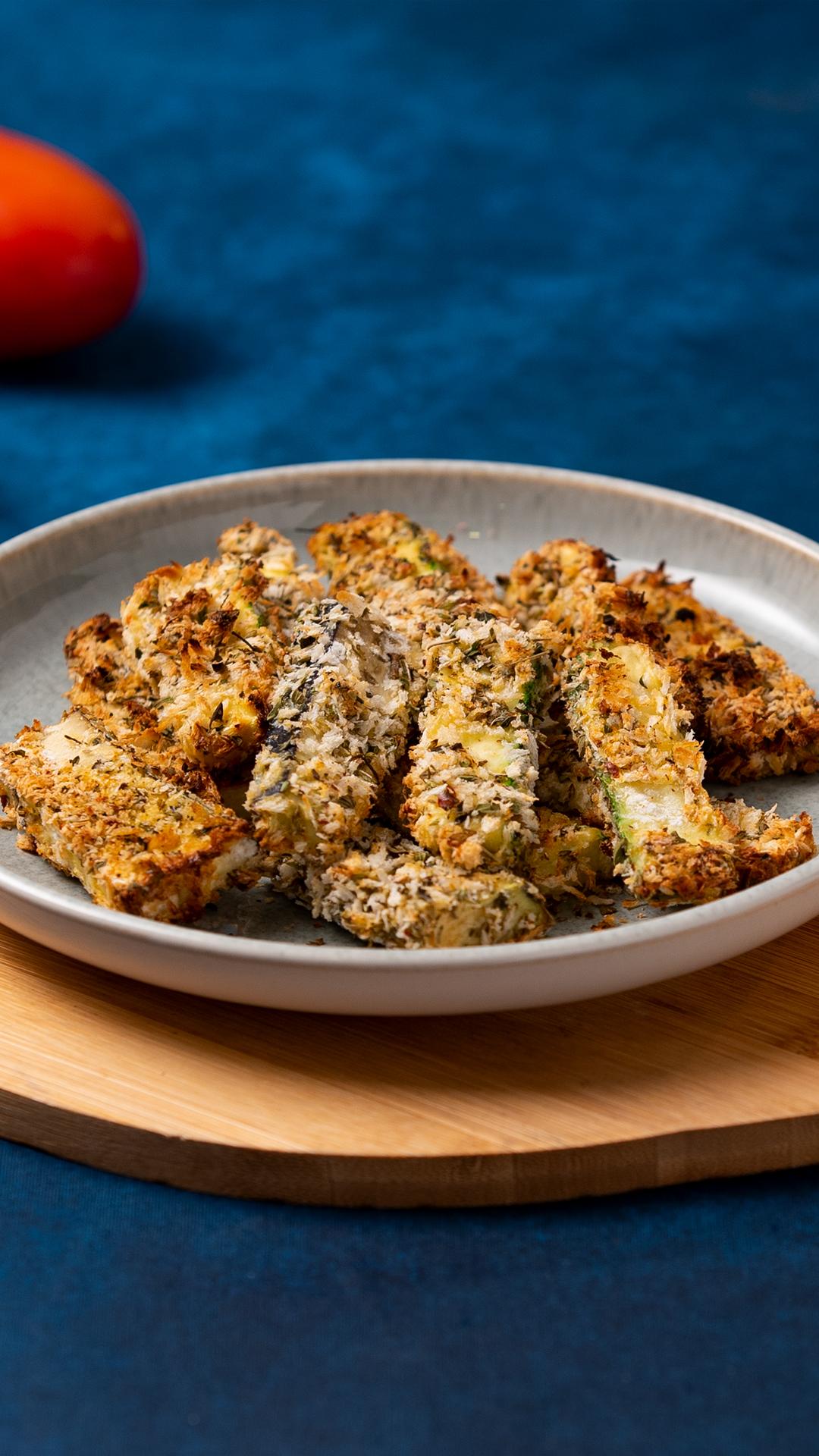 Baked Zucchini & Eggplant Fingers