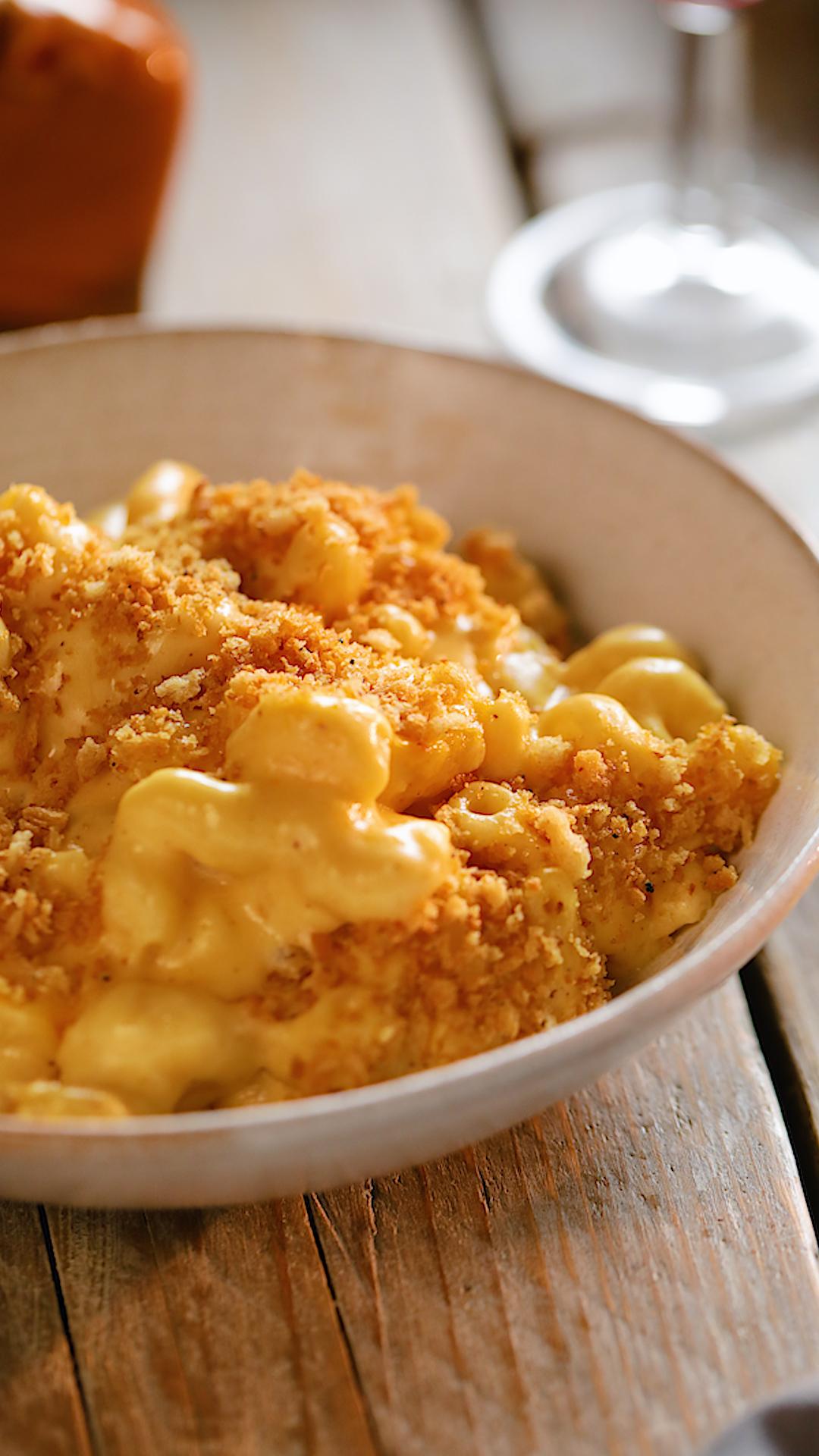 Brown Butter Mac N Cheese