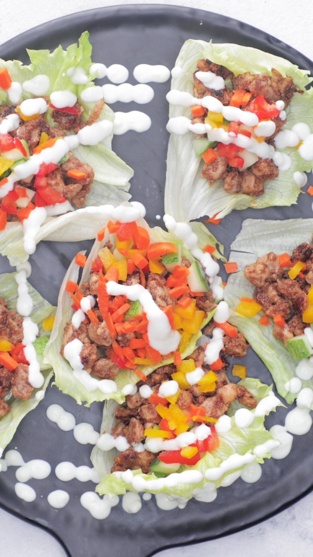 Chicken Tandoori Lettuce Wrap