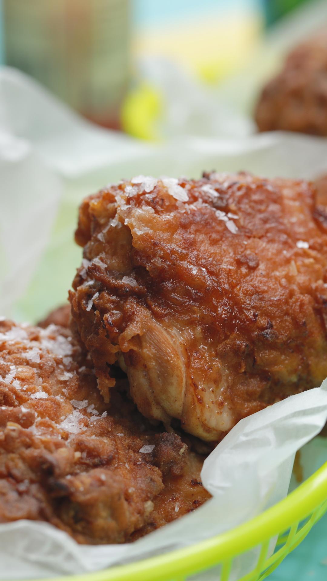 Deep Fried Jerk Chicken