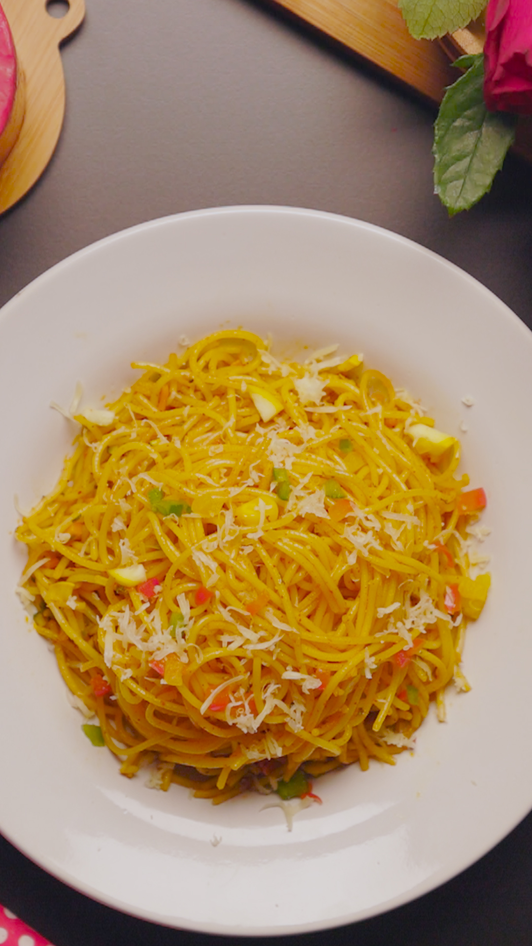 Indian Style Spaghetti - Valentines Day Special