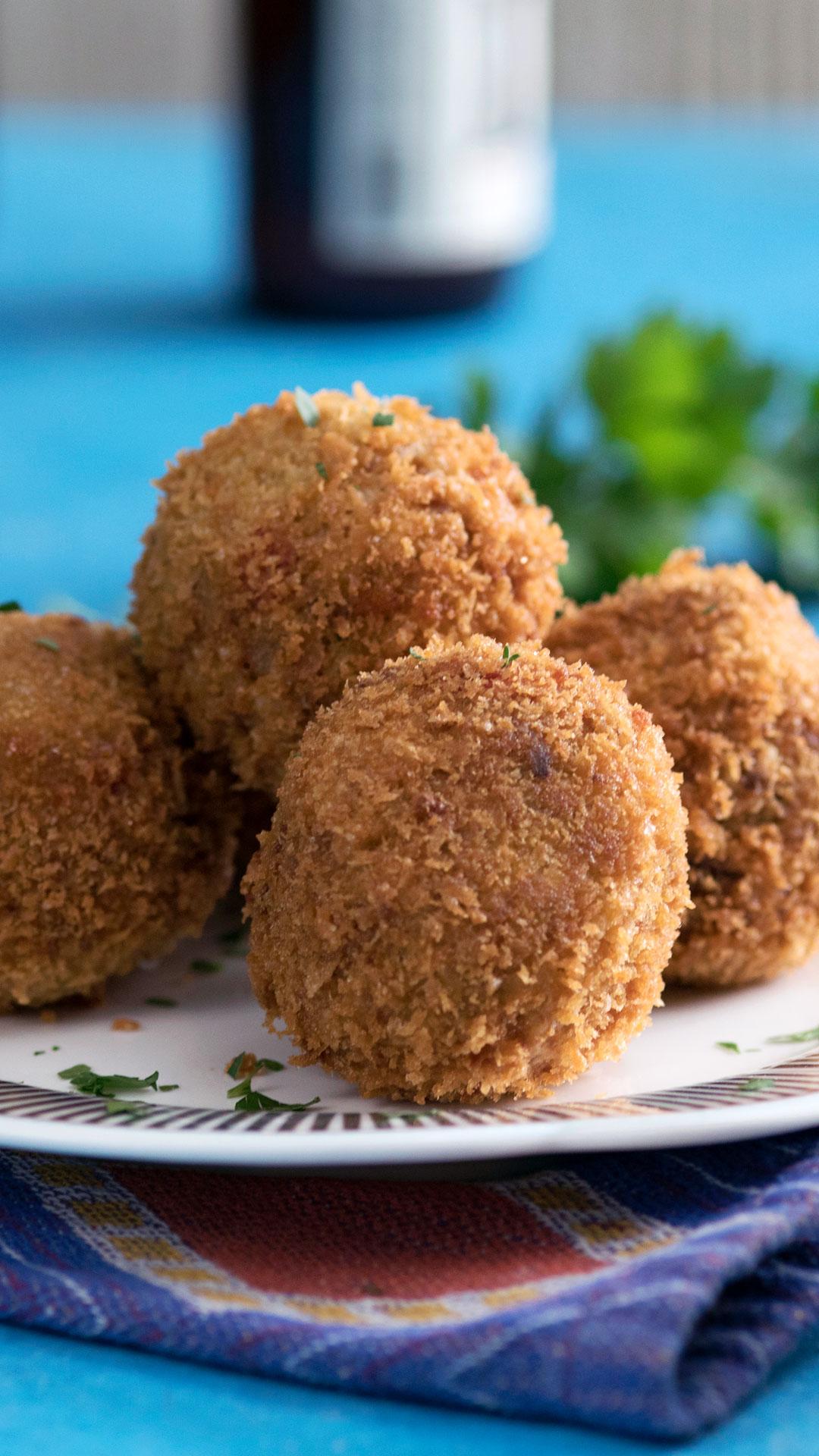Jambalaya Rice Balls