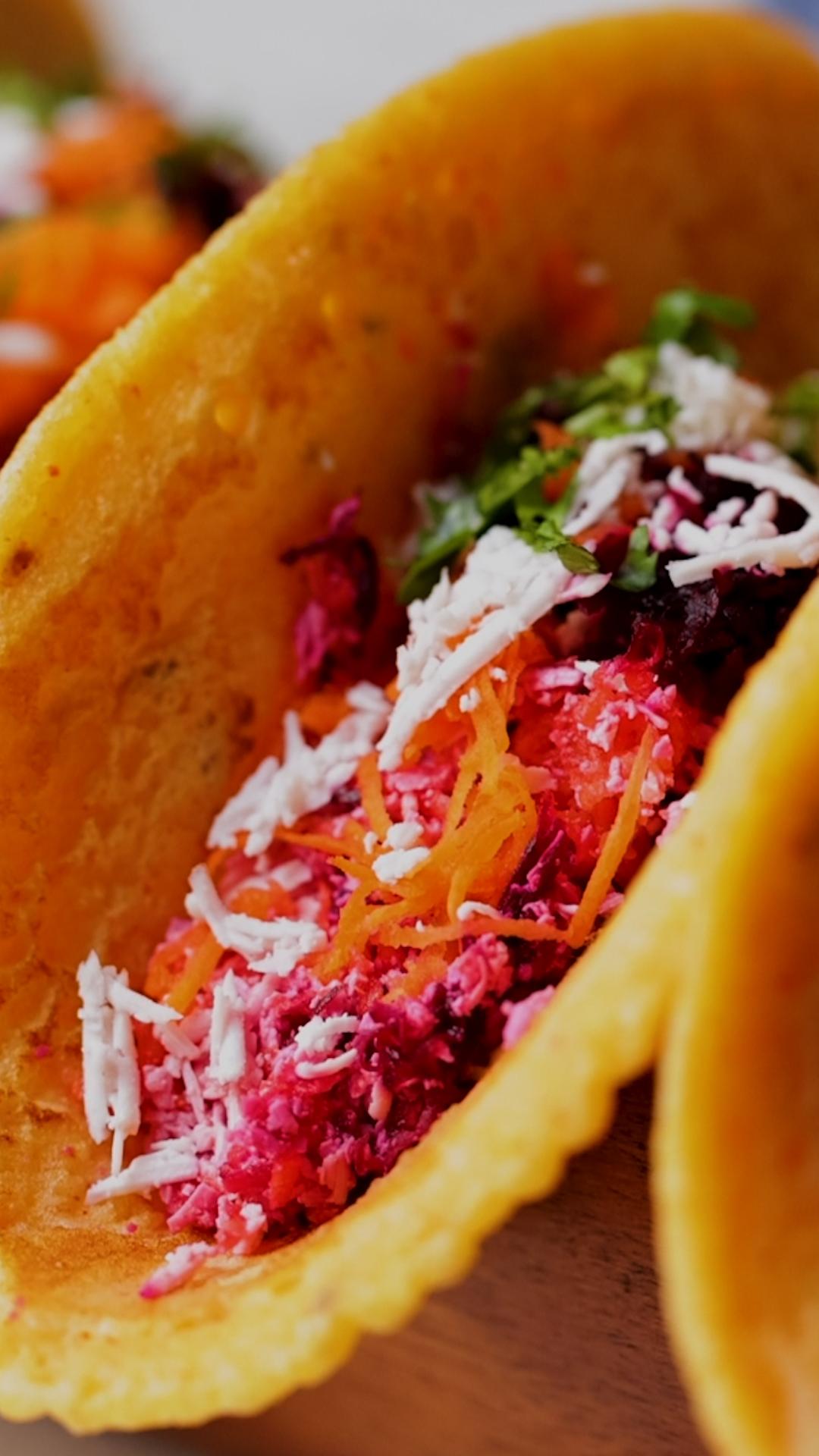 Moong Dal Chilla Tacos