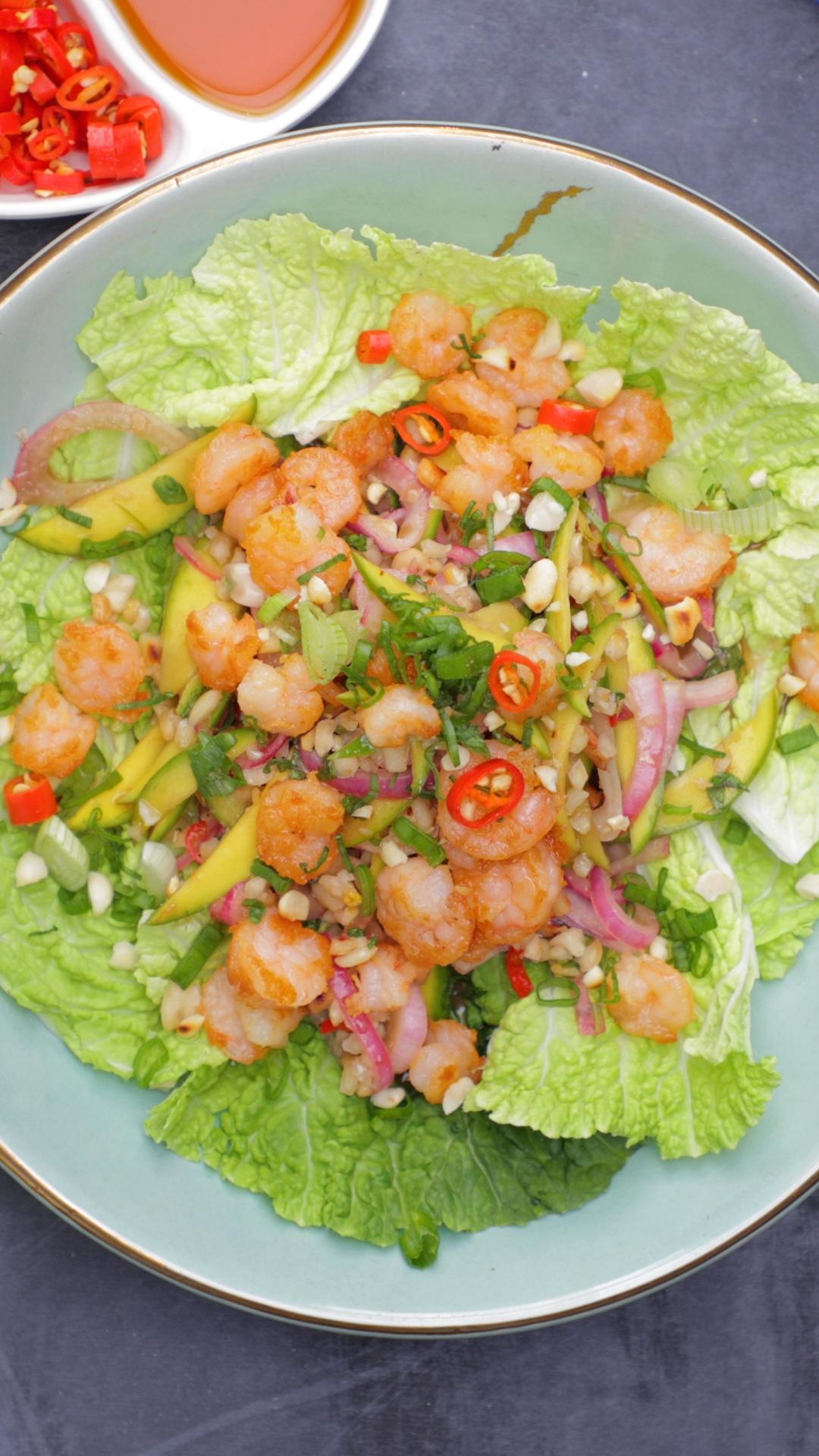 Prawn Kairi Salad