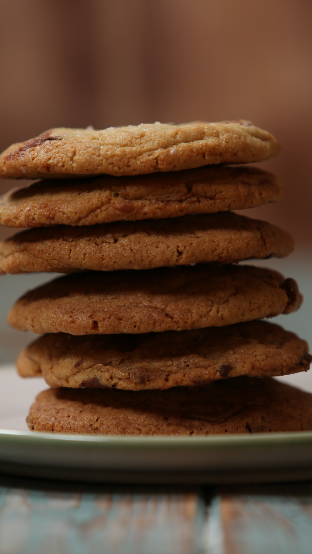 Salted Caramel Melty Middle Cookies