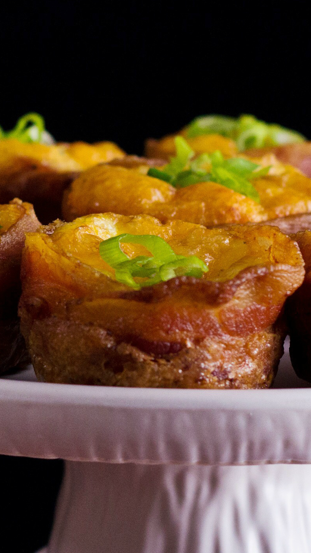 Bacon, Egg and Cheese Cups