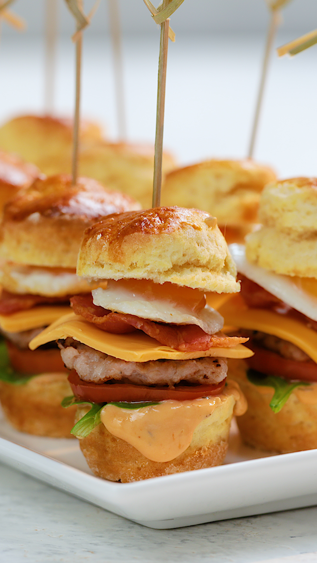 Petite Breakfast Sandwich