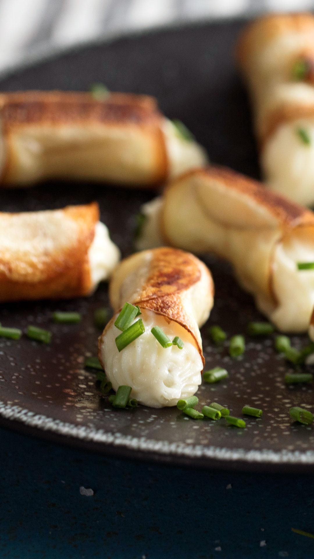 Potato Cannolis