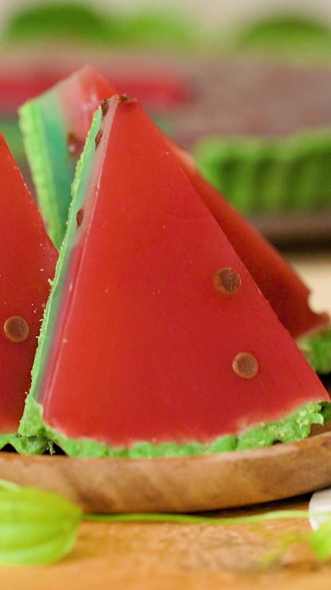 Watermelon Ice Cream Tart